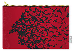 No604 My Birdman Minimal Movie Poster Carry-all Pouch by Chungkong Art