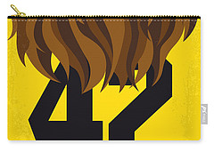 No607 My Teen Wolf Minimal Movie Poster Carry-all Pouch