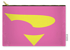 No720 My Supergirl Minimal Movie Poster Carry-all Pouch