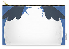 No744 My Happy Feet Minimal Movie Poster Carry-all Pouch