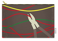 Carry-all Pouch featuring the digital art No746 My The Hurt Locker Minimal Movie Poster by Chungkong Art