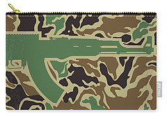 Carry-all Pouch featuring the digital art No747 My Heartbreak Ridge Minimal Movie Poster by Chungkong Art