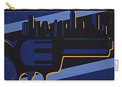Carry-all Pouch featuring the digital art No762 My New Jack City Minimal Movie Poster by Chungkong Art