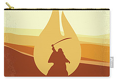 Carry-all Pouch featuring the digital art No772 My Lawrence Of Arabia Minimal Movie Poster by Chungkong Art