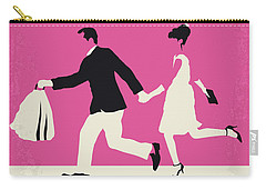 No785 My Paris When It Sizzles Minimal Movie Poster Carry-all Pouch