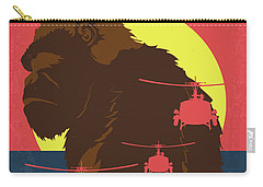 No799 My Skull Island Minimal Movie Poster Carry-all Pouch
