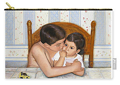 Noah Takes Time For Kira Carry-all Pouch by Marlene Book