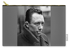 Nobel Prize Winning Writer Albert Camus Unknown Date #1 -2015 Carry-all Pouch