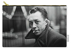 Nobel Prize Winning Writer Albert Camus  Unknown Date Or Photographer -2015           Carry-all Pouch