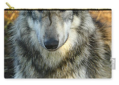 Noble Lupine Carry-all Pouch by Shari Jardina