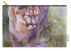 Noble Cougar Carry-all Pouch by Bonnie Rinier