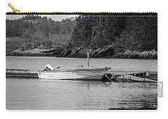 Carry-all Pouch featuring the photograph Noca Scotia In Black And White  by Trace Kittrell