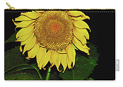 Noctural Sunflower Power Carry-all Pouch