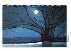Carry-all Pouch featuring the painting Nocturne 71 by Donald Maier