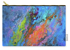 Nocturne Nebula Abstract Painting Carry-all Pouch