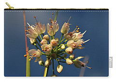 Carry-all Pouch featuring the photograph Nodding Onion by Ann E Robson