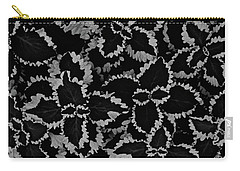 Noir Brocade Carry-all Pouch by Tim Good