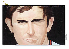 Nolan Ryan With The Angels Carry-all Pouch