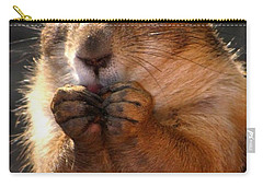 Snacking Prairie Dog Carry-all Pouch