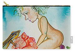 Nonie Of The Whimsical And Magickal Realm No. 2285 Carry-all Pouch