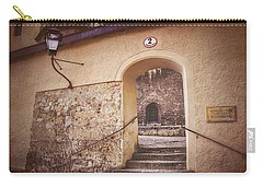Carry-all Pouch featuring the photograph Nonnberg Abbey In Salzburg Austria  by Carol Japp