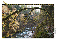 Carry-all Pouch featuring the photograph Nooksack River by Yulia Kazansky
