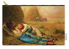 Carry-all Pouch featuring the photograph Noonday Rest by John Kolenberg