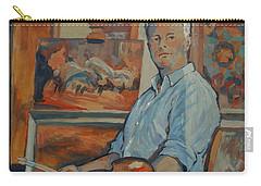 Nop Briex Self Portrait Carry-all Pouch