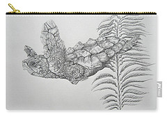 Carry-all Pouch featuring the drawing Norman by Mayhem Mediums