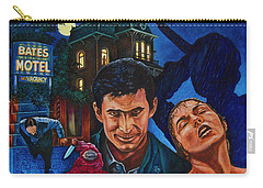 Carry-all Pouch featuring the painting Norman by Michael Frank