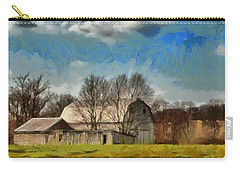 Norman's Homestead Carry-all Pouch by Trish Tritz