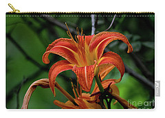 Carry-all Pouch featuring the photograph Norris Lake Daylily 2 by Douglas Stucky