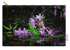 Norris Lake Floral Carry-all Pouch by Douglas Stucky