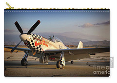 North American P-51d Mustang Buzzin Cousin Carry-all Pouch