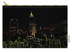 North Avenue Atlanta Carry-all Pouch by Dennis Baswell