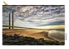 North Beach At Indian River Inlet Carry-all Pouch
