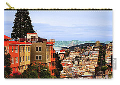 North Beach, San Francisco Carry-all Pouch