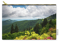North Carolina Appalachian Mountains Spring Flowers Scenic Landscape Carry-all Pouch