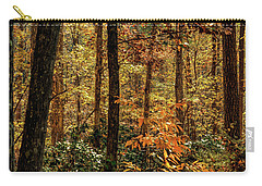North Carolina Fall In The Forest Carry-all Pouch