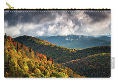 North Carolina Mountains Asheville Nc Autumn Sunrise Carry-all Pouch
