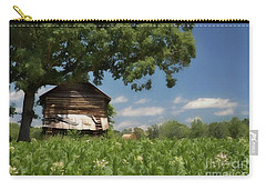 Carry-all Pouch featuring the photograph North Carolina Tobacco by Benanne Stiens
