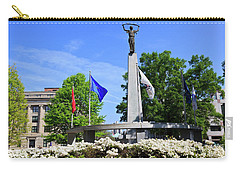 North Carolina Veterans Monument Carry-all Pouch