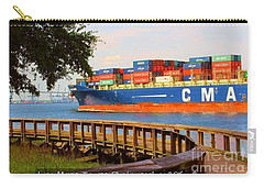 North Charleston Riverfront Carry-all Pouch