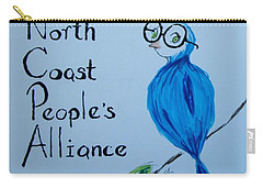 North Coast People's Alliance With Bernie Carry-all Pouch