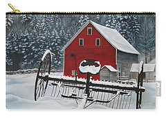 North Country Winter Carry-all Pouch