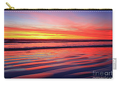North County Sand Ripples Carry-all Pouch