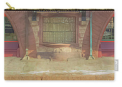 North Easton Train Station At Solstice Carry-all Pouch