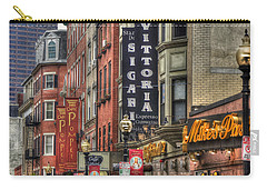 North End Charm 11x14 Carry-all Pouch by Joann Vitali