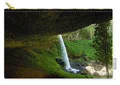 Carry-all Pouch featuring the photograph North Falls by Sean Griffin