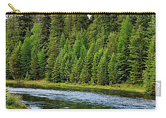 North Fork Of The Flathead Carry-all Pouch